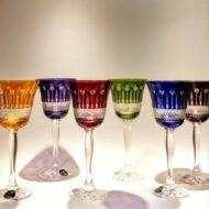 ποτήρια κρασιού χρωματιστά