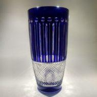 Κρυστάλλινο βάζο μπλε