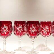 Σετ 6 τμχ. ποτήρια κρασιού κόκκινα